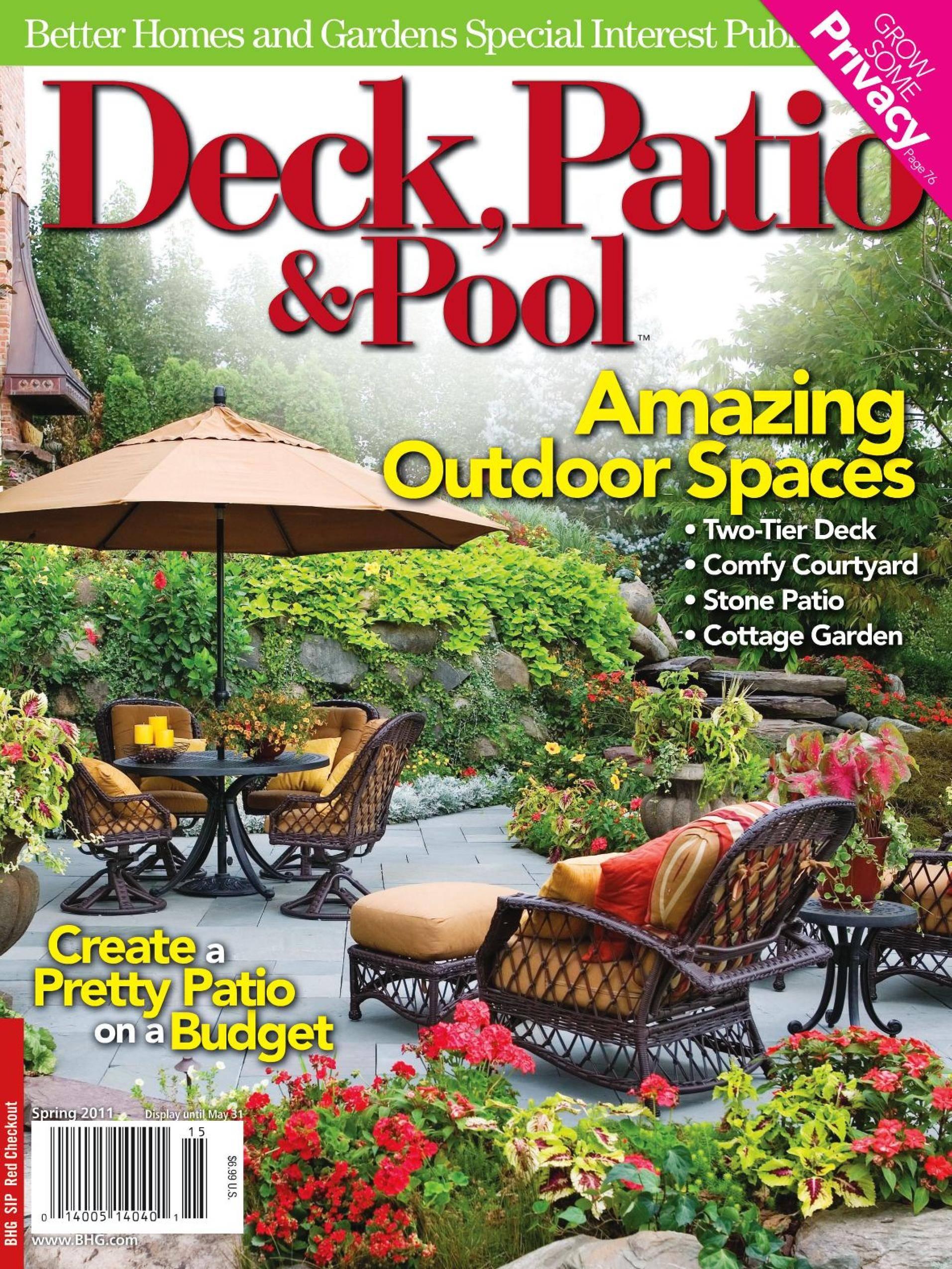 Deck, Patio & Outdoor Living - June 01, 2011