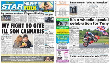 Shropshire Star Shrewsbury Edition – August 27, 2018