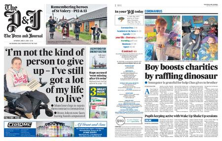 The Press and Journal Moray – June 13, 2020
