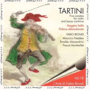 Fabio Biondi - Tartini: Five Sonatas for Violin and Basso Continuo (L'arte di Fabio Biondi, Vol. 18) (1992)