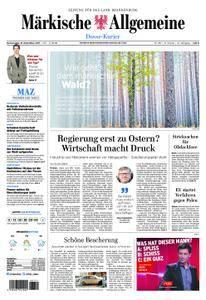 Märkische Allgemeine Dosse Kurier - 21. Dezember 2017