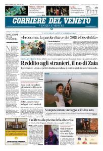 Corriere del Veneto Venezia e Mestre – 05 gennaio 2019