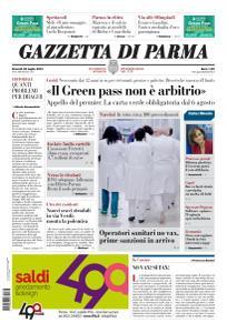 Gazzetta di Parma - 23 Luglio 2021