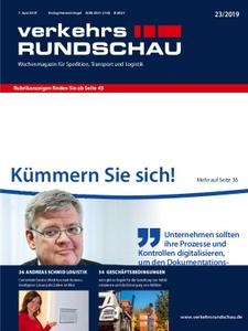 VerkehrsRundschau - 06. Juni 2019