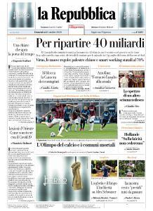 la Repubblica - 18 Ottobre 2020