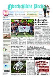 Oberhessische Presse Marburg/Ostkreis - 08. Juni 2018