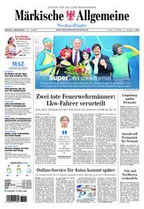 Märkische Allgemeine Westhavelländer - 02. Oktober 2019