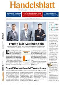 Handelsblatt - 22. November 2018