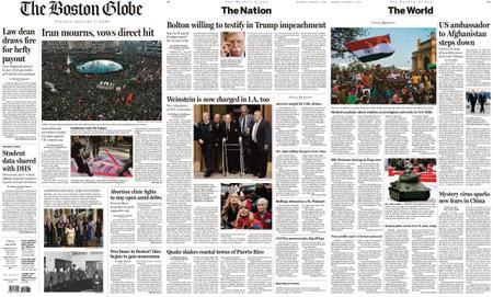 The Boston Globe – January 07, 2020