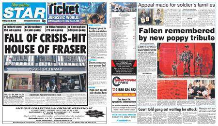 Shropshire Star Shrewsbury Edition – June 08, 2018