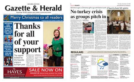 Gazette & Herald – December 24, 2020