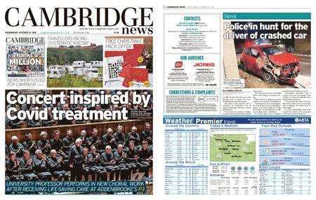 Cambridge News – October 27, 2021