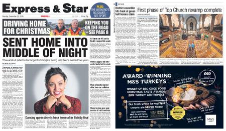 Express and Star Sandwell Edition – December 23, 2019
