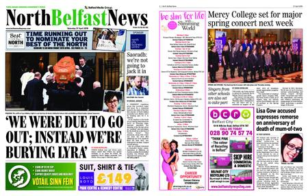 North Belfast News – April 27, 2019