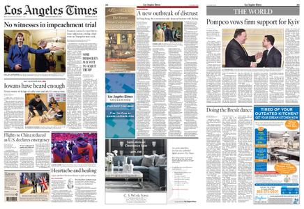 Los Angeles Times – February 01, 2020