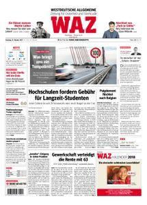 WAZ Westdeutsche Allgemeine Zeitung Oberhausen-Sterkrade - 31. Oktober 2017