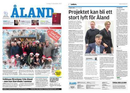 Ålandstidningen – 23 december 2017