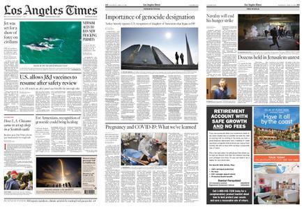 Los Angeles Times – April 24, 2021