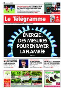 Le Télégramme Quimper – 01 octobre 2021