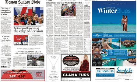 The Boston Globe – February 02, 2020