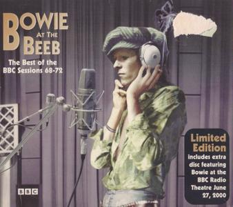 David Bowie - Bowie At The Beeb, The Best Of The BBC Radio Sessions 68-72 (2000) {2CD+bonus CD, EMI 7243 5 28958 2 3}