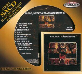 Blood, Sweat And Tears - Greatest Hits (1972) [Audio Fidelity 2016] PS3 ISO + Hi-Res FLAC