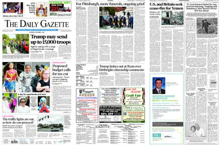 The Daily Gazette – November 01, 2018