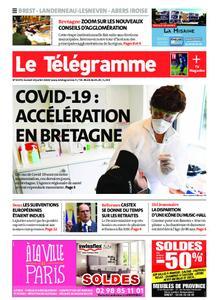 Le Télégramme Brest Abers Iroise – 18 juillet 2020