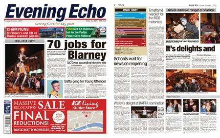 Evening Echo – November 01, 2018