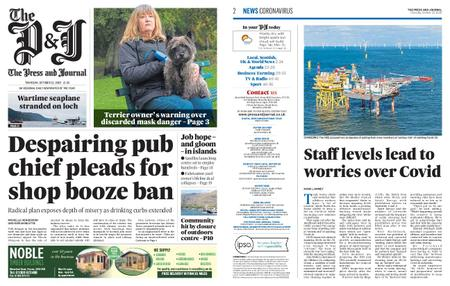 The Press and Journal Moray – October 22, 2020