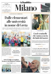 la Repubblica Milano – 13 Settembre 2019