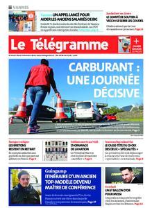 Le Télégramme Vannes – 03 décembre 2019