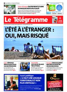Le Télégramme Brest Abers Iroise – 26 mai 2020