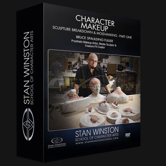 Character Makeup - Sculpture Breakdown & Moldmaking - Part One