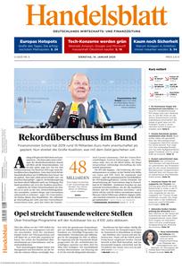 Handelsblatt - 14. Januar 2020