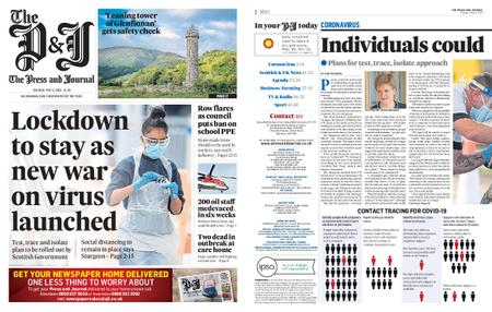 The Press and Journal Moray – May 05, 2020