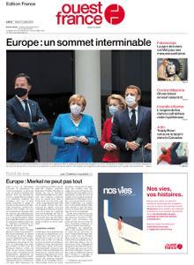 Ouest-France Édition France – 21 juillet 2020