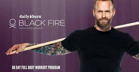 Black Fire Workout Program with Bob Harper
