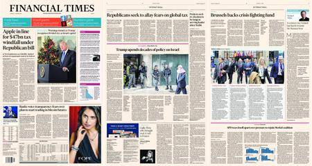 Financial Times Europe – 07 December 2017