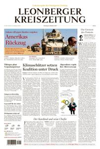 Leonberger Kreiszeitung - 08. Oktober 2019