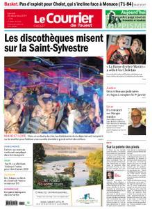 Le Courrier de l'Ouest Cholet – 28 décembre 2019