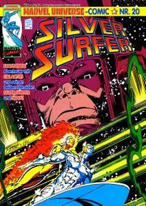 Marvel Universe Comics 20 - Silver Surfer