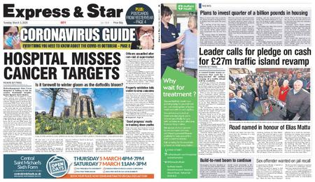 Express and Star City Edition – March 03, 2020