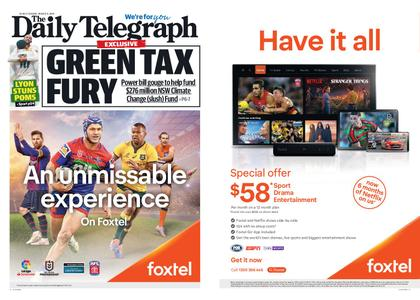 The Daily Telegraph (Sydney) – August 06, 2019