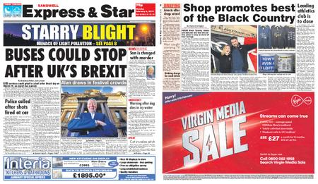 Express and Star Sandwell Edition – February 04, 2019