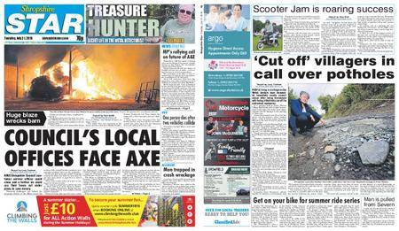 Shropshire Star Shrewsbury Edition – July 31, 2018
