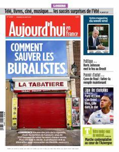 Aujourd'hui en France du Vendredi 30 Août 2019