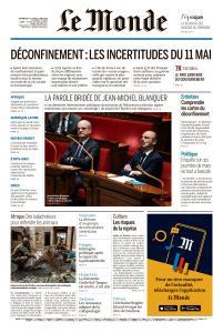 Le Monde du Dimanche 10 et Lundi 11 Mai 2020