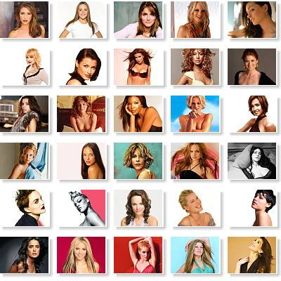 Beautiful Faces Celebrities Wallpapers