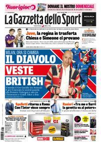 La Gazzetta dello Sport Roma – 01 dicembre 2018